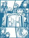 2015 :3 anthro cloak clothed clothing comic duo feline female flora_(twokinds) fur hair human keidran male mammal monochrome outside simple_background sketch smile teeth text tiger tom_fischbach tongue trace_legacy twokinds webcomic white_background