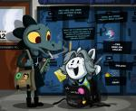 ... <3 alligator anthro backpack bag bea_(nitw) bendy bendy_and_the_ink_machine cigarette clothing crocodilian door dress duo english_text female fur hi_res jacksepticeye locker markiplier night_in_the_woods phone_number pony_head_(star_vs._the_forces_of_evil) red_eyes reptile scalie school smoking star_vs._the_forces_of_evil stripes sweat temmie_(undertale) text undertale video_games white_fur wolfjedisamuel yellow_scleraRating: SafeScore: 31User: The_PandaDate: May 22, 2017