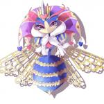 <3 arthropod bee feather_boa female floating_hands insect insect_wings kirby_(series) nintendo purple_eyes queen_sectonia solo video_games wattaa wings わったーRating: SafeScore: 2User: Furrin_GokDate: September 26, 2017