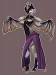 anthro bat clothed clothing crossdressing ear_piercing furgonomics furry-specific_piercing jewelry juxzebra male mammal piercing smile solo standing wing_piercing wingsRating: SafeScore: 1User: Cat-in-FlightDate: March 31, 2017