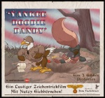 anthro armor army avian bird buckteeth clothing donny_squirrel duo dynamite eagle explosives fascist german_text helmet karri_aronen male mammal military movie_poster nazi parody rodent squirrel swastika teeth text toilet_paper toony uniform
