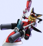 5_fingers anthro black_fur black_hair canine clothed clothing driving dutch_angle eyewear eyewear_on_head fully_clothed fur gloves goggles goggles_on_head gun guntz hair holding_object holding_weapon hoverbike klonoa_(series) low_res male mammal official_art orange_fur ponytail ranged_weapon simple_background smile solo straddling toony unknown_artist vehicle weapon white_background wolfRating: SafeScore: 1User: Rockman2kDate: November 11, 2009
