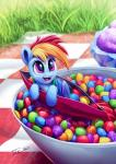 2018 digital_media_(artwork) equine feathered_wings feathers female feral friendship_is_magic grass hair hi_res hooves mammal micro multicolored_hair my_little_pony open_mouth outside pegasus rainbow_dash_(mlp) rainbow_hair skittles solo tsitra360 wingsRating: SafeScore: 8User: lemongrabDate: April 24, 2018