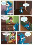 absurd_res blue_scales clothed clothing comic crossover davis dialogue digimon english_text eyewear goggles hi_res human love mammal nude oriont red_eyes scales speech_bubble story text vee_stitch veemonRating: SafeScore: 13User: vee_stitchDate: February 18, 2018