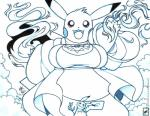 5_fingers angela_(walter_sache) big_breasts black_nose breasts cleft_tail clothing female fire mimikyu nintendo open_mouth overweight pikachu pokémon pokémon_(species) smile tongue undertale video_games walter_sacheRating: SafeScore: 7User: Lerred1Date: April 12, 2018