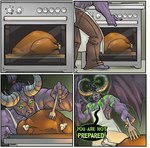 4koma alternate_species apron bent_over biceps biped border clothed clothing comic cooking demon detailed_background dialogue digital_media_(artwork) english_text foreshortening fork front_view horn human humanized humor illidan_stormrage inside male mammal membranous_wings muscular muscular_male obliques oven pants pecs perspective rear_view serratus soft_shading solo speech_bubble standing text triceps unknown_artist video_games warcraft wingsRating: SafeScore: 13User: mscDate: April 23, 2007