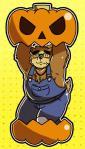 2017 anthro bear blush brown_fur clothing eyewear food fruit fur glasses gnj97 hat male mammal overalls pumpkin solo straw_hat tokyo_afterschool_summoners volosRating: SafeScore: 1User: mapachitoDate: November 19, 2017