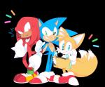 anthro black_nose blue_eyes blush canine clothing dipstick_tail echidna footwear fox fur gloves green_eyes group hedgehog hi_res knuckles_the_echidna mai-pie male mammal miles_prower monotreme multicolored_tail purple_eyes smile sonic_(series) sonic_the_hedgehog spikes video_games white_fur yellow_furRating: SafeScore: 3User: Cane751Date: September 21, 2017