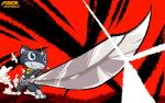 cat feline mammal melee_weapon morgana_(persona) patreon persona_5 sword weapon zenmigawaRating: SafeScore: 0User: ZenMigawaDate: February 19, 2018
