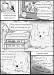 anthro canine comic english_text macro mammal monochrome s2-freak text