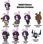 alternate_costume anthro beauty_mark big_breasts bow breasts candy chocolate cleavage clothed clothing cosplay crown disney english_text eyewear ficficponyfic fire_emblem food food_creature fur goggles hair hair_over_eyes hammer japanese_clothing judy_hopps kimono lagomorph mammal nintendo panne police_uniform princess purple_hair rabbit rabbit_princess royalty ryo-ohki simple_background tenchi_muyo text tools towergirls uniform vaccum_cleaner video_games white_background white_fur white_mage zootopia