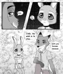 2017 anthro canine clothing comic disney female fox fur judy_hopps lagomorph male mammal nacchan96 nick_wilde rabbit zootopiaRating: SafeScore: 2User: Rysaerio-MisoeryDate: October 19, 2017