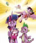 2017 dragon equine female feral flurry_heart_(mlp) flying friendship_is_magic hair horn male mammal messy_hair my_little_pony saturdaymorningproj sleeping sound_effects spike_(mlp) twilight_sparkle_(mlp) winged_unicorn wings zzzRating: SafeScore: 6User: 2DUKDate: April 23, 2017