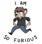 2009 analon_(artist) angry anthro canine clothed clothing cross-eyed english_text fully_clothed jacket johnny_boy male mammal pants simple_background solo teeth text white_background wolf zipperRating: SafeScore: 8User: RiversydeDate: July 01, 2010