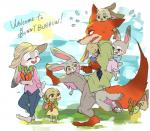 2017 anthro brother canine clothed clothing disney female fox fur group judy_hopps ketuusage2 lagomorph male mammal nick_wilde rabbit sibling sister tail_hug young zootopiaRating: SafeScore: 9User: Rysaerio-MisoeryDate: March 31, 2017