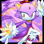 blaze_the_cat cat cristianharold0000 feline mammal solo sonic_(series) tagme