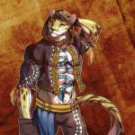 2017 alternate_version_available anthro clothing feline hi_res hoodie leopard likulau male mammal nekojishi roven_hill solo tattooRating: SafeScore: 7User: DelurCDate: January 08, 2018