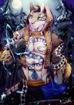 2017 absurd_res anthro clothed clothing english_text feline hi_res leopard likulau male mammal moon muscular muscular_male nekojishi outside signature solo text tree zanakilRating: SafeScore: 0User: Nicklo6649Date: February 18, 2018