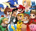 2014 absurd_res alien amphibian animal_crossing anthro ape black_eyes black_hair black_nose blonde_hair blue_eyes blue_fur breasts brown_fur buckle canine capcom cleavage clothed clothing crossover digital_media_(artwork) donkey_kong_(character) donkey_kong_(series) facial_hair female frog fur green_eyes greninja grey_eyes group hair hat hedgehog hi_res human humanoid hylian kid_icarus kirby kirby_(series) link little_mac lucario machine male mammal mario mario_bros mega_man_(character) mega_man_(series) mustache necktie nintendo open_mouth piercing pikachu pink_body pink_eyes pit pokémon pokémon_(species) primate punch-out!! red_cheeks robot rodent rosalina_(mario) shirt smile sonic_(series) sonic_the_hedgehog sssonic2 super_mario_galaxy super_smash_bros sweat teeth the_legend_of_zelda tongue tongue_out toon_link video_games villager_(animal_crossing) wii_fit wii_fit_trainer yellow_body yellow_furRating: SafeScore: 13User: RobinebraDate: July 09, 2017