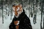 anthro clothed clothing coat eyes_closed feline forest fur hriscia inner_ear_fluff mammal outside snow snowing solo striped_fur stripes tiger tree whiskersRating: SafeScore: 1User: spankweaselDate: February 18, 2018