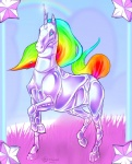 2010 adult-swim ambiguous_gender blue_eyes equine feral hooves horn machine mammal rainbow robot robot_unicorn_attack shalinka solo star unicornRating: SafeScore: 1User: RiversydeDate: July 01, 2010