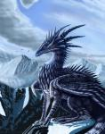 2017 aerin-kayne blue_scales day detailed_background digital_media_(artwork) dragon feral green_eyes horn outside scales scalie sky solo western_dragonRating: SafeScore: 4User: MillcoreDate: March 17, 2018