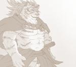 abs anthro armpit_hair biceps clothed clothing digital_media_(artwork) feline fur male mammal muscular muscular_male pecs tiger topless wildheitRating: SafeScore: 1User: Rysaerio-MisoeryDate: March 26, 2017