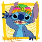 2015 4_fingers alien black_eyes blue_claws blue_fur blue_nose blue_pawpads chest_tuft claws digital_drawing_(artwork) digital_media_(artwork) disney disney_parks experiment_(species) fur harara headwear lilo_and_stitch notched_ear open_mouth open_smile pawpads signature simple_background smile solo stitch tokyo_disneysea tuft wavingRating: SafeScore: 1User: BooruHitomiDate: January 16, 2018