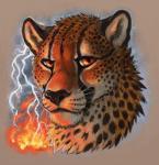 2016 amara_telgemeier cheetah feline fire jasiri lightning mammal orange_eyes soloRating: SafeScore: 16User: TonyLemurDate: December 07, 2016