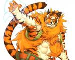 2018 abs anthro biceps big_muscles captainjohkid clothing digital_media_(artwork) feline flakjacket0204 fur kemono male mammal muscular muscular_male pecs red_eyes tigerRating: SafeScore: 6User: Kario-xiDate: March 09, 2018