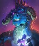anthro arcanagos_(world_of_warcraft) blue_scales claws dragon grin hearthstone horn magic male nightbane_(world_of_warcraft) official_art pink_eyes scales scalie sharp_teeth signature smile solo sparks spikes teeth video_games warcraft western_dragon wingsRating: SafeScore: 6User: notawerewolfDate: September 22, 2017