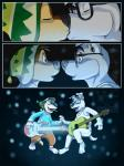 animal_crossing anthro bodi canine comic crossover dog duo eclipsewolf guitar k.k._slider kissing male male/male mammal musical_instrument nintendo rock_dog video_games
