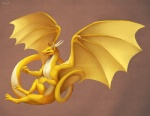 2013 bent_horns claws countershading digital_media_(artwork) dragon falvie featureless_chest feral flying full-length_portrait horn kicks long_tail looking_away male membranous_wings multicolored_skin nude portrait scalie simple_background sitting solo spread_wings two_tone_skin western_dragon white_claws wings yellow_membrane yellow_skinRating: SafeScore: 24User: slyroonDate: January 28, 2013