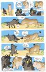 blush brown_fur comic feline female feral fur hyena laphund lion mammal red_eyes spots spotted_fur textRating: SafeScore: 17User: Eagle0600Date: April 18, 2018