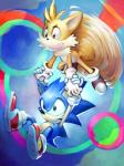 2017 absurd_res ansyp anthro black_nose canine clothing duo footwear fox fur gloves hedgehog hi_res male mammal miles_prower sonic_(series) sonic_the_hedgehog video_games white_fur yellow_furRating: SafeScore: 1User: Cane751Date: September 21, 2017