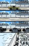 2016 car comic disney police police_car snow tree vehicle yitexity zero_pictured zootopia