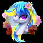 beach blonde_hair blue_hair equine fan_character female friendship_is_magic hair hibiscus horn horse looking_at_viewer mammal multicolored_hair my_little_pony pony portrait purple_eyes rayhiros seaside solo unicorn wave_shineRating: SafeScore: 4User: RayhirosDate: February 16, 2018