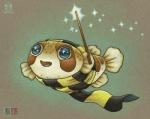 2017 ambiguous_gender blue_eyes blush feral fish harry_potter humor kacey magic_user marine open_mouth pufferfish pun scarf solo sparkles visual_pun wandRating: SafeScore: 7User: ClawstripeDate: June 27, 2017