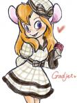 2011 3:4 <3 anthro blush chico110 chip_'n_dale_rescue_rangers clothed clothing disney dress eyelashes gadget_hackwrench gloves hair hand_behind_back hat holding_object mammal mouse open_mouth open_smile orange_hair pink_nose purple_eyes rodent simple_background smile solo white_backgroundRating: SafeScore: 3User: BooruHitomiDate: September 24, 2017