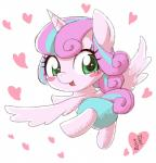 2017 <3 baby blush cute diaper equine eyelashes feathered_wings feathers female flurry_heart_(mlp) friendship_is_magic green_eyes hair horn japanese_text looking_at_viewer looking_back makeup mammal mascara multicolored_hair my_little_pony open_mouth signature simple_background solo suspended_in_midair text two_tone_hair white_background winged_unicorn wings yanamosuda youngRating: SafeScore: 3User: GlimGlamDate: January 19, 2018