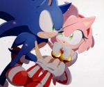 2017 amy_rose anthro clothing female gloves group hedgehog male mammal omiya599 simple_background sonic_(series) sonic_the_hedgehog video_games white_background