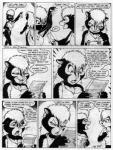 1998 anthro black_and_white clothing comic female human james_m_hardiman lori_(jmh) mammal monochrome natasha_(jmh) onyx_(jmh) skunk traditional_media_(artwork)Rating: SafeScore: 5User: Lord_DarconiumDate: July 27, 2017