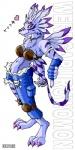 <3 anthro breasts canine clothing crossgender digimon female gloves kitsune_netsuki mammal pants piercing red_eyes solo weregarurumon wolfRating: SafeScore: 17User: BlackwingdragonDate: April 15, 2009