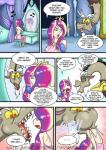 ... 2016 comic dialogue discord_(mlp) draconequus english_text female friendship_is_magic human male mammal mirror my_little_pony natsumemetalsonic princess_cadance_(mlp) text vore