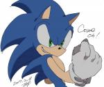 2017 anthro clothing gloves hedgehog male mammal omiya599 simple_background solo sonic_(series) sonic_the_hedgehog video_games white_background