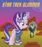 clothed clothing cutie_mark duo equine female feral friendship_is_magic hair hi_res horn horse mammal masemj multicolored_hair my_little_pony pony solo spock star_trek starlight_glimmer_(mlp) text two_tone_hair unicorn uniform vulcanRating: SafeScore: 4User: QuetzalcoatlColoradoDate: June 28, 2016