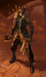 2011 anthro axe brown_theme grin hi_res holding_object holding_weapon lagomorph looking_at_viewer male mammal melee_weapon rabbit runes sickyicky smile solo warm_colors weaponRating: SafeScore: 6User: ktkrDate: October 07, 2012