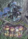 2015 amber_eyes apple apple_bloom_(mlp) armor babs_seed_(mlp) basket black_feathers black_fur blue_eyes cloak clothing day earth_pony equine fear feathered_wings feathers female feral food forest freckles friendship_is_magic fruit fur glowing glowing_eyes green_eyes group hair hair_bow hair_ribbon hi_res hiding hood hooves horn horse inner_ear_fluff leaves lord_of_the_rings mammal multicolored_hair my_little_pony nightmare_moon_(mlp) orange_eyes orange_fur outside pony purple_eyes purple_hair red_hair ribbons scared scarf scootaloo_(mlp) sweetie_belle_(mlp) the-wizard-of-art tree two_tone_hair unicorn winged_unicorn wings yellow_furRating: SafeScore: 10User: slyroonDate: May 24, 2017