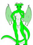 breasts brown_eyes dragon emerald_(chris05478) featureless_breasts featureless_crotch female green_scales horn kittsy membranous_wings reptile scales scalie small_breasts white_scales wingsRating: SafeScore: 0User: chris05478Date: January 18, 2018