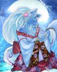 amaterasu anthro breasts canine daughter deity drat_lasso_tool female mammal mother mother_and_daughter ookami parent video_games wolf ŌkamiRating: SafeScore: 8User: HotPunkAssDate: March 17, 2018